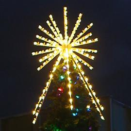 Christmas Tower Tree Toppers