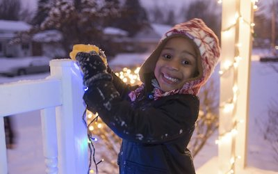 Kids and Christmas Lights: A Recipe for Fun, a Bit of Chaos, and Priceless, Precious Memories